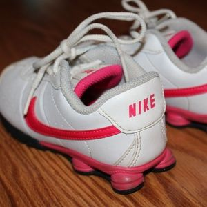 Little Girl's Nike tennis shoes